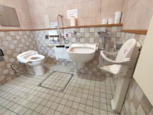 山中湖のバリアフリーな宿!車椅子とオストメイト対応トイレの場所