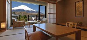 部屋から富士山が見える山中湖の宿リスト!